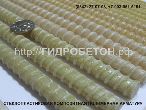 Фото стеклопластиковой полимерной композитной арматуры (замена металлической арматуры А-III), для вертикального и горизонтального армирования, при проведении монолитных работ.