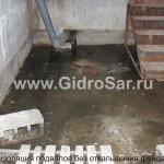 Бетонные подвалы строительство и гидроизоляция